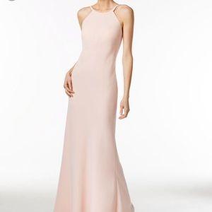 Calvin Klein open back Maxi Gown